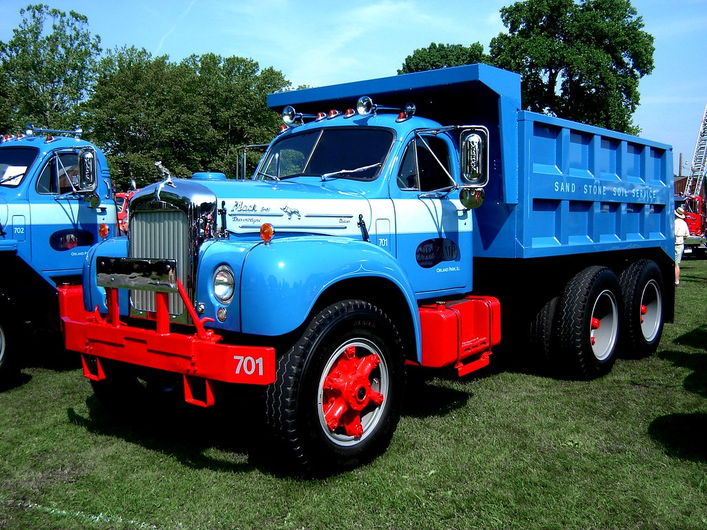 1965 mack b model dump truck macungie antique truck show j flickr 1986 Mack B Model 1965 mack b model dump truck by jack byrnes hill