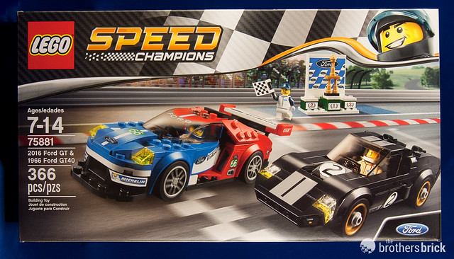 lego speed champions 2016 ford gt 1966 ford gt40 review. Black Bedroom Furniture Sets. Home Design Ideas