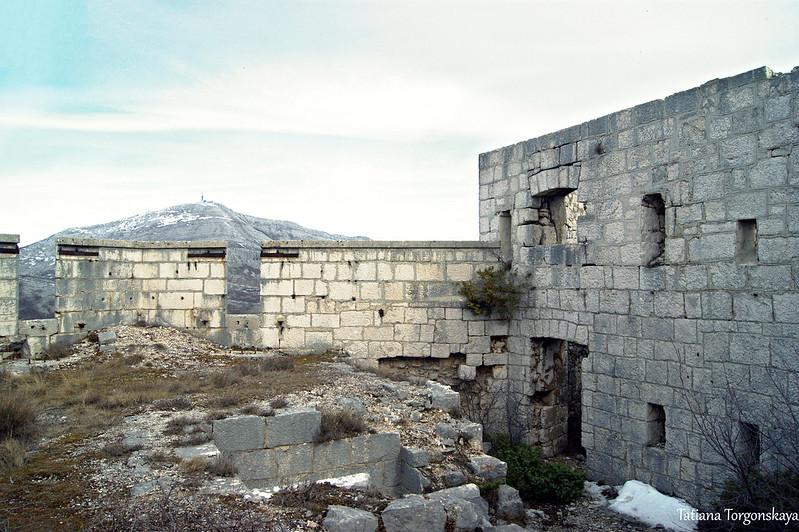 В боевой части форта