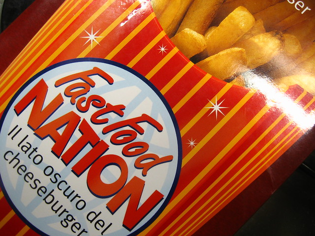 Fast Food Nation Book Cover ~ Fast food nation book by davidaola flickr photo