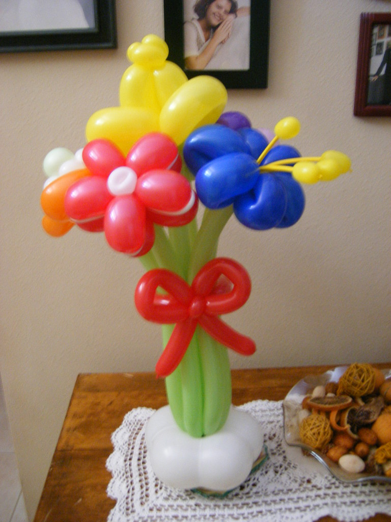 Balloon Flower Bouquet Delivery Jonathan Fudge Flickr