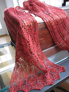 Beaded Summer Stream Scarf Ravelry 02 | by fisherwomanknits
