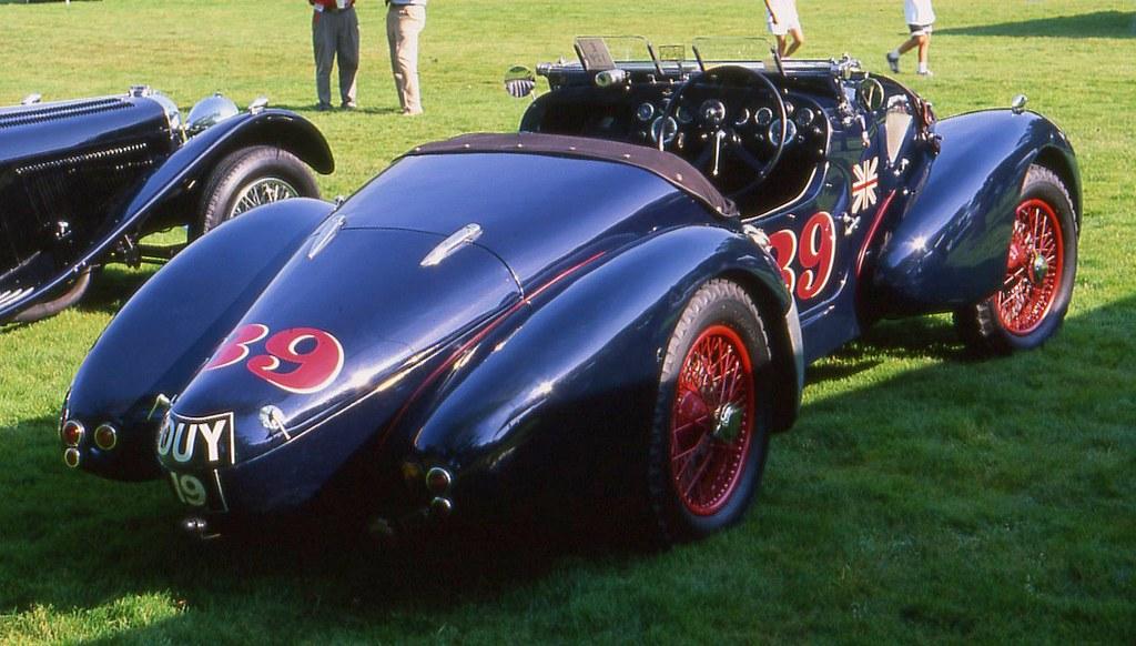 New Aston Martin >> 1939 Aston Martin Type C Speed Model | Richard Spiegelman | Flickr