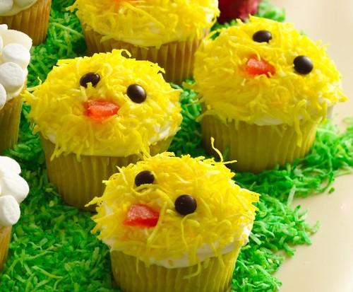 Easter Chick Cupcakes Recipe | Cupcakes 1 box Betty Crocker ...