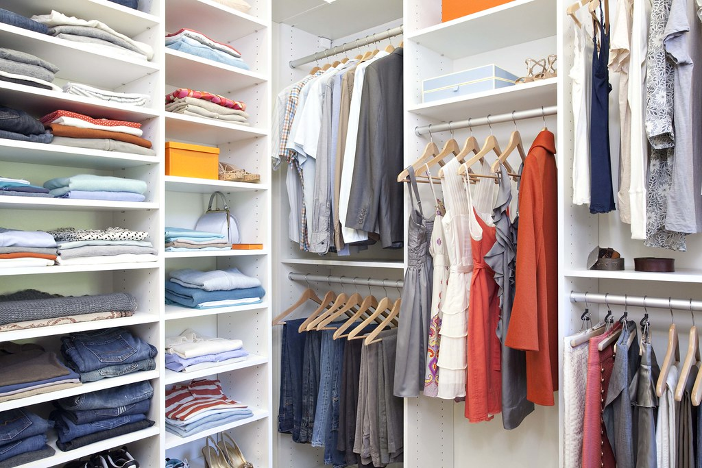 ... California Closets   AFTER IMAGE, Walk In Closet In Lago, Bellissima  White Finish