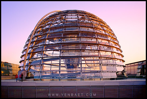 Berlin - The Reichstag Glass Dome in Sunset Light | by Yen Baet