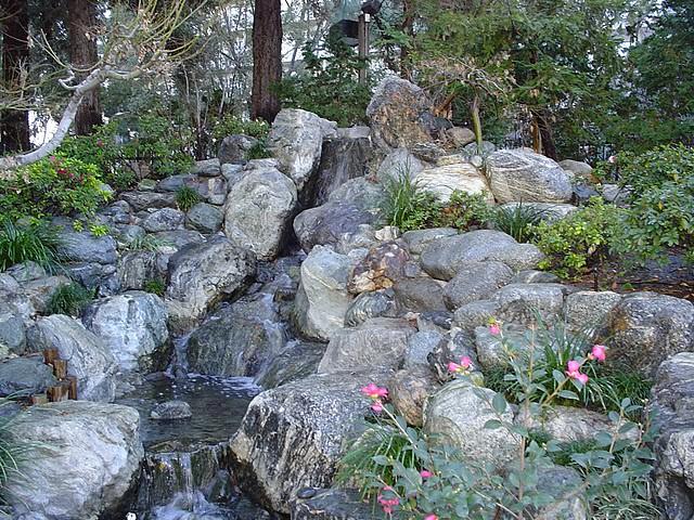 James irvine japanese garden in little tokyo maggie for Little japanese garden