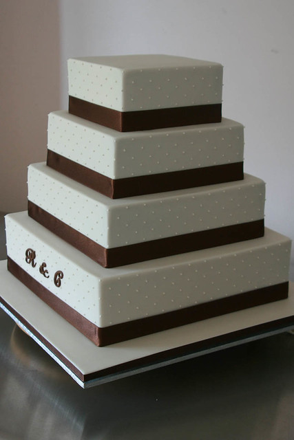 3 tier square wedding cake pans r amp c wedding cake 4 tier square wedding cake sizes 6 10257