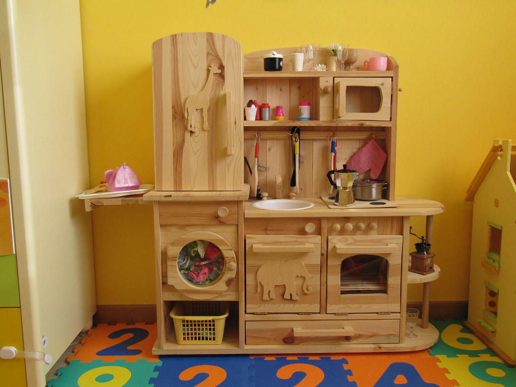 Handmade Play Kitchen For Sale