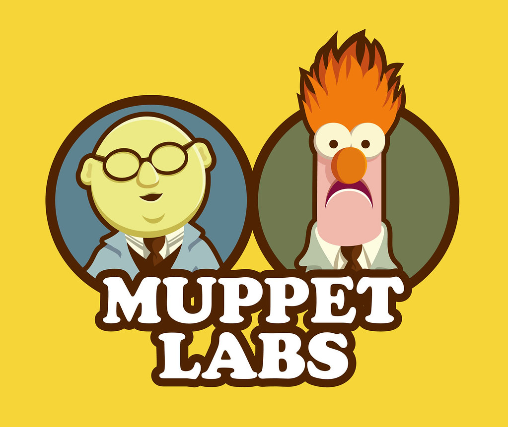Muppet labs my entry in the muppet t shirt design - Beaker muppets quotes ...