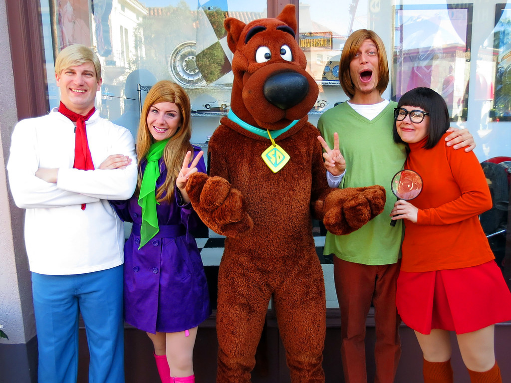 Fred Daphne ScoobyDoo Shaggy and Velma  Hollywood Univ  Flickr
