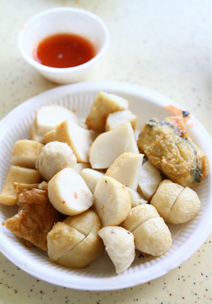 Hawker Centre in Singapore: Tiong Bahru Market & Food Centre Fishballs