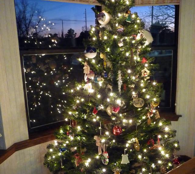 Christmas tree in bay window fancy horse flickr