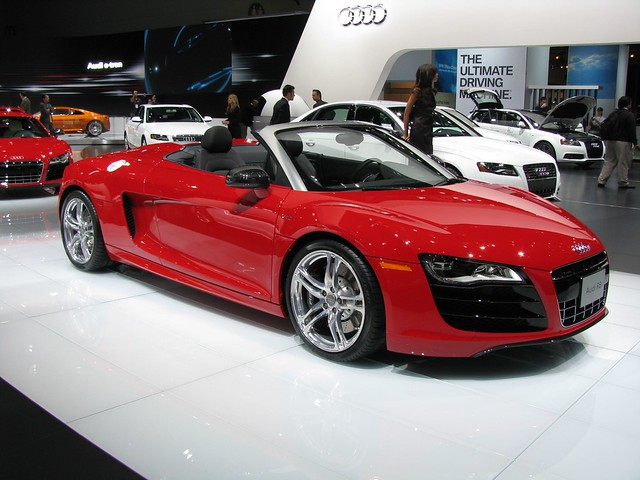 audi r8 convertible flickr photo sharing. Black Bedroom Furniture Sets. Home Design Ideas