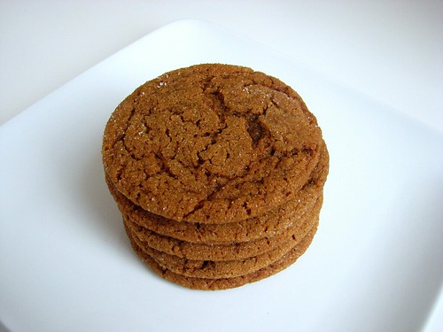 Soft & Chewy Molasses Spice Cookies | by Tracey's Culinary Adventures