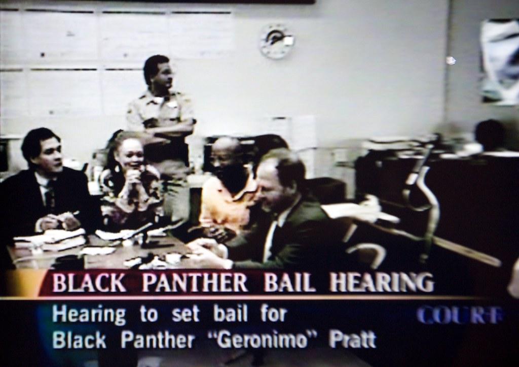 Geronimo Pratt Black Panther Bail Hearing Black Panther