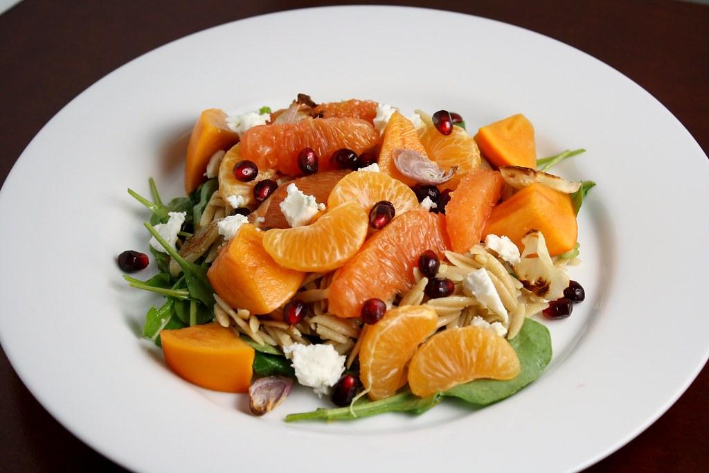 Winter Orzo Salad