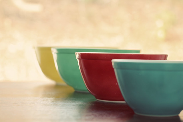 Vintage Green Enamel Kitchen Table