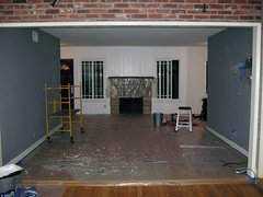 New-House-Living-Room-paint-in-progress-2 | by ...love Maegan