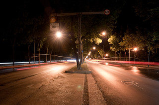 Traffic lights from the middle of the road | by Horia Varlan