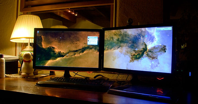 Dual Monitor Setup | Still having problems with system ...