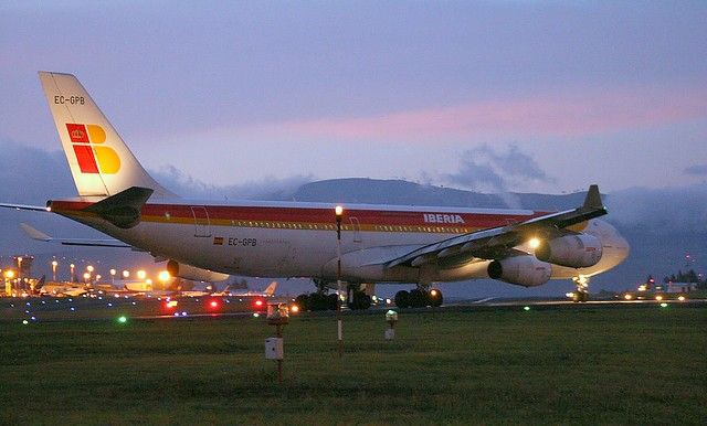 Iberia Airlines A340 (1)