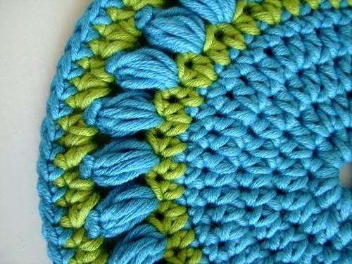 Round Crochet Pot Holder Easy Crochet Pattern Marta Chade Flickr