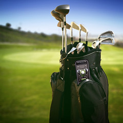 Golf iPhone App | by StickerGiant