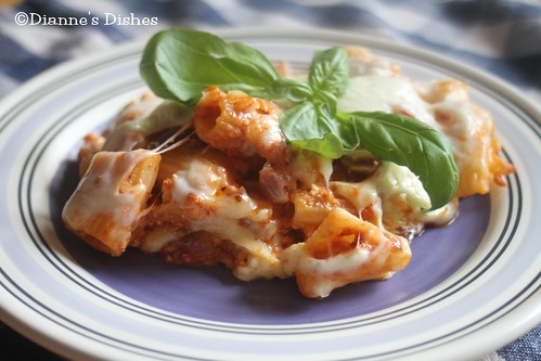 Baked Rigatoni | by Dianne's Dishes