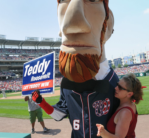 Abe Lincoln supports Teddy? | by Scott Ableman
