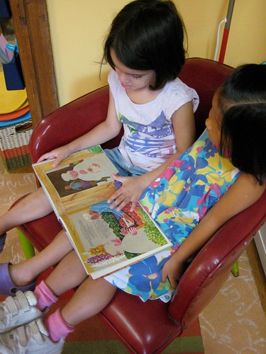Reading together | by Takoma Park Cooperative Nursery School