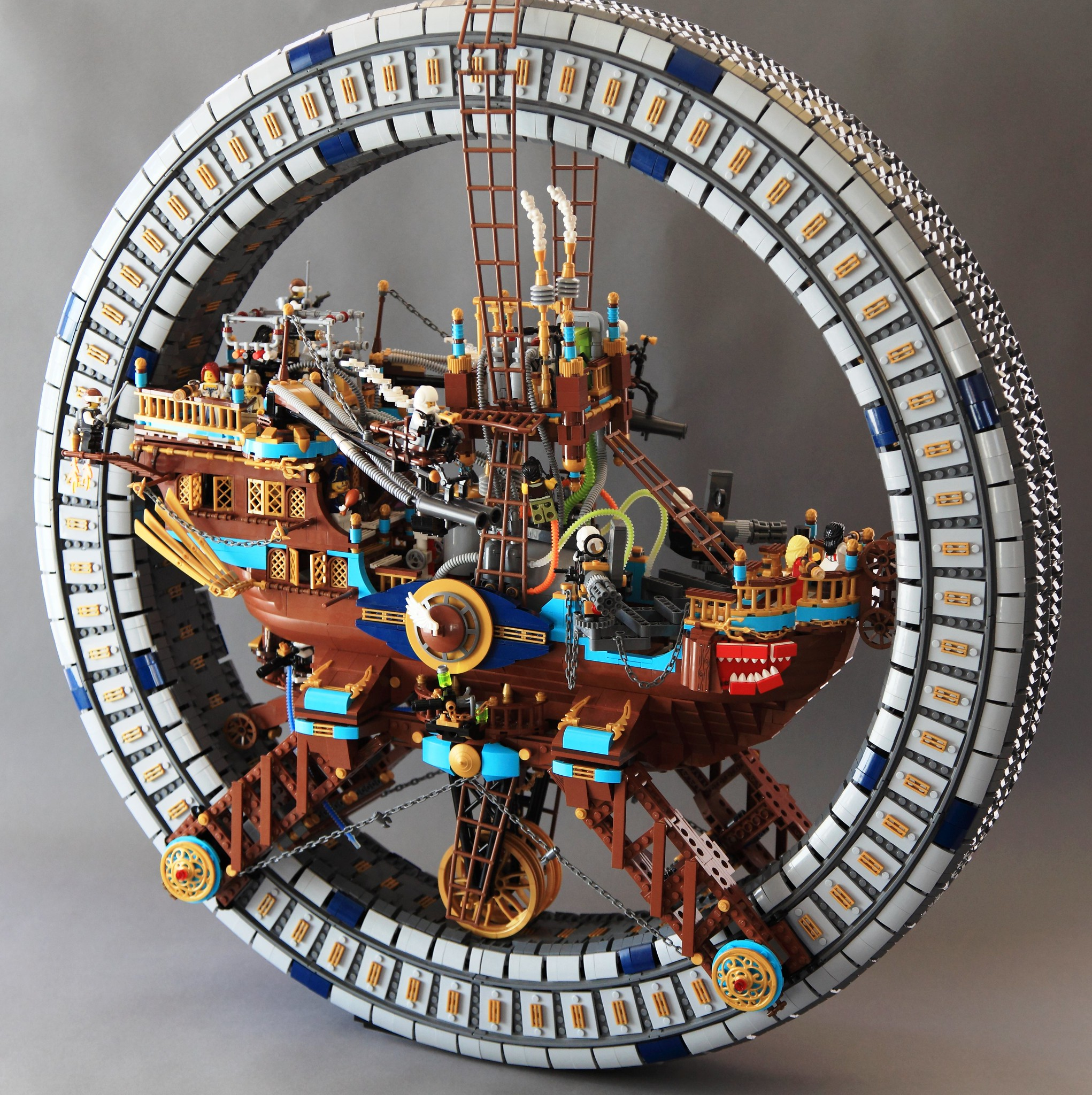 LEGO Steampunk Wheel