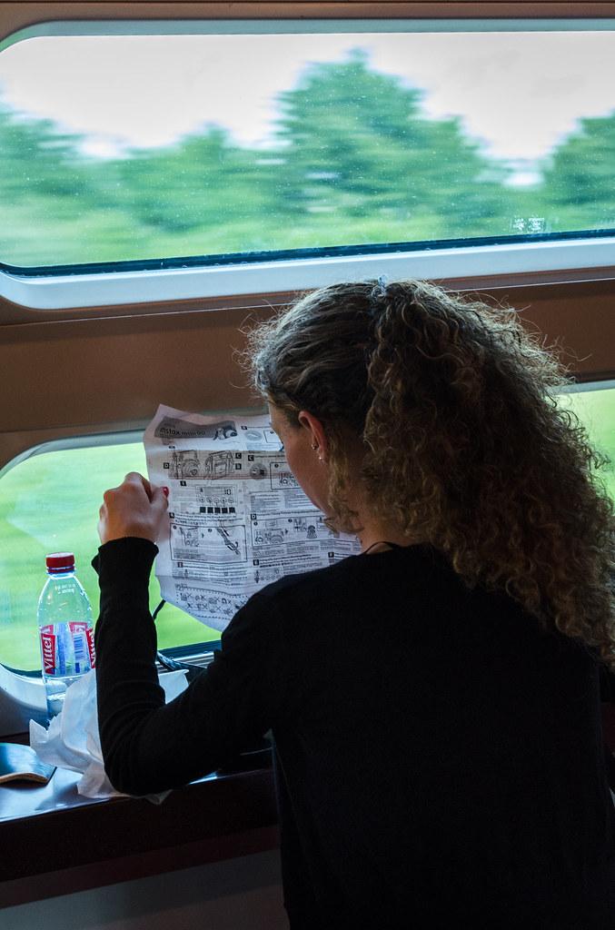 la fille du train veut devenir photographe