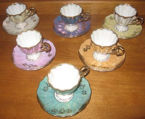 Vintage Tea Room Regina Menu