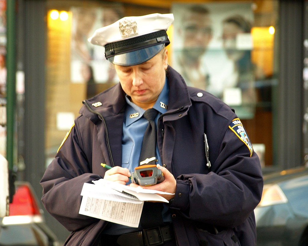 Nyc Traffic Ticket >> NYPD Traffic Enforcement Officer, Washington Heights NYC ...