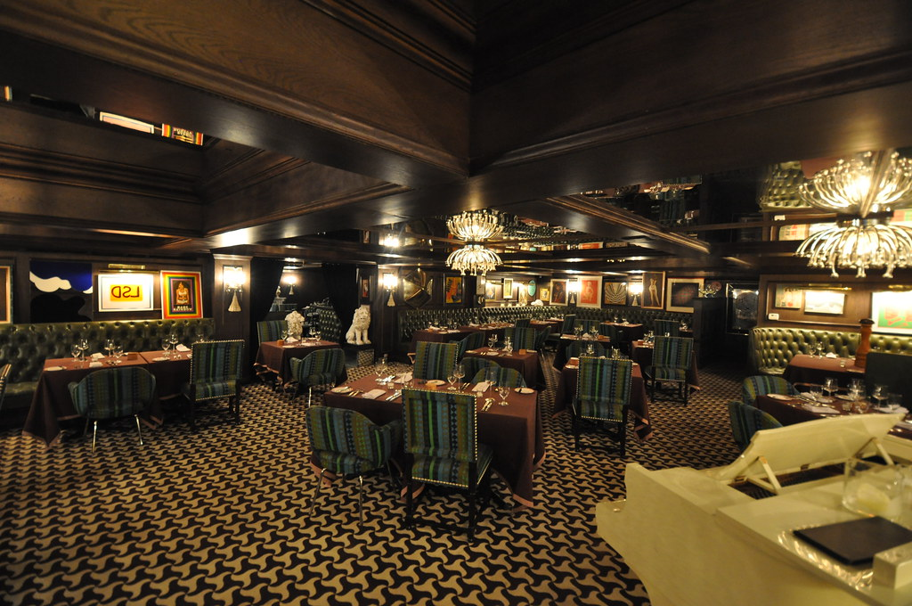 The Parker Hotel Restaurant Palm Springs