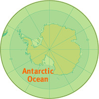 Antarctic Ocean aka Southern Ocean Location Map Location Flickr