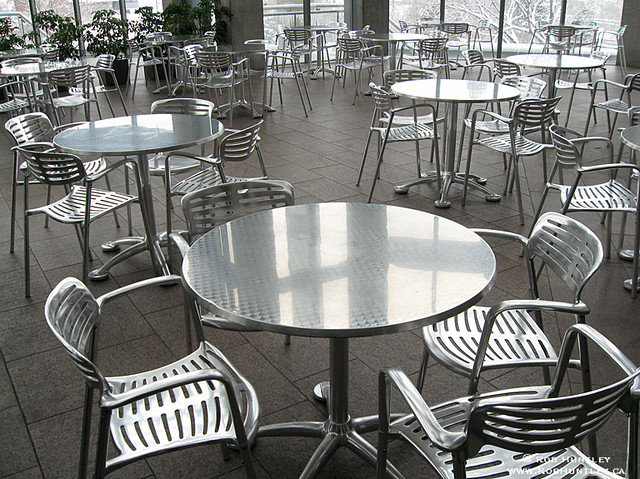 ... Canada Chrome Chairs And Tables | By Rob Huntley Photography   Ottawa,  Ontario, Canada
