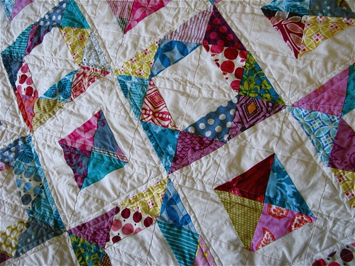Geometric Squares Quilt A Christmas Quilt