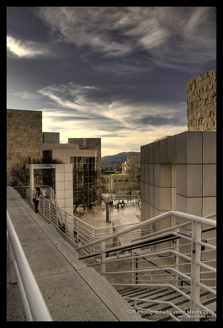 HDR Getty Architecture 2 Part Of My HDR California
