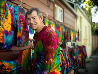 tie dye guy | by PJ Taylor Photo