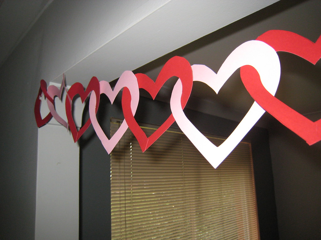 Martha 39 s heart decorations ok so i needed a reason to for Heart decoration ideas