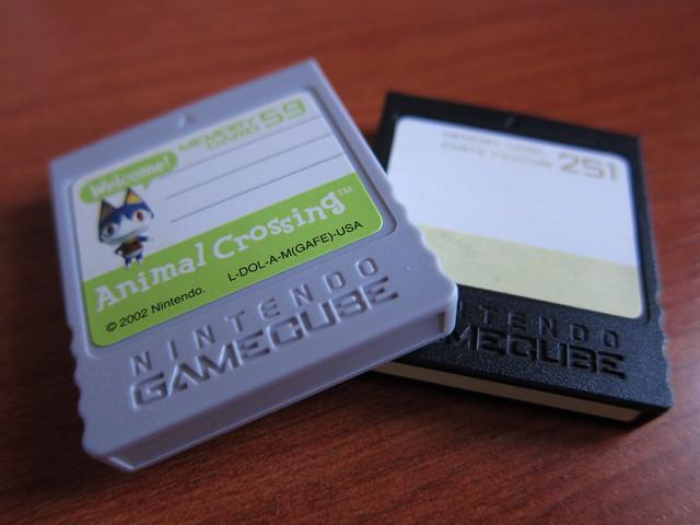 Memory Cards de Gamecube