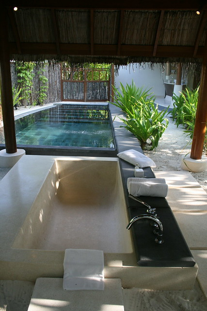 Photo for Outdoor bathroom for pool