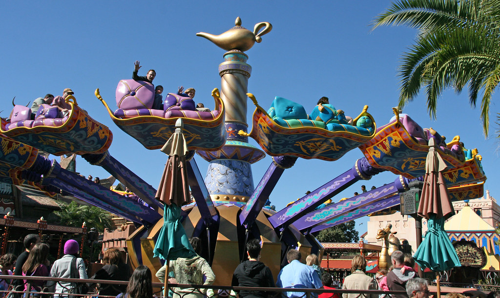 Magic Kingdom Adventureland Aladdin S Magic Carpet Ride