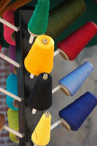 Colorful Spools | by rumolay