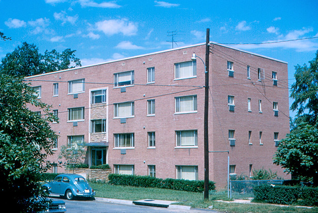 Arlington - My Apartment in Rosslyn (1965) | My apartment bu… | Flickr