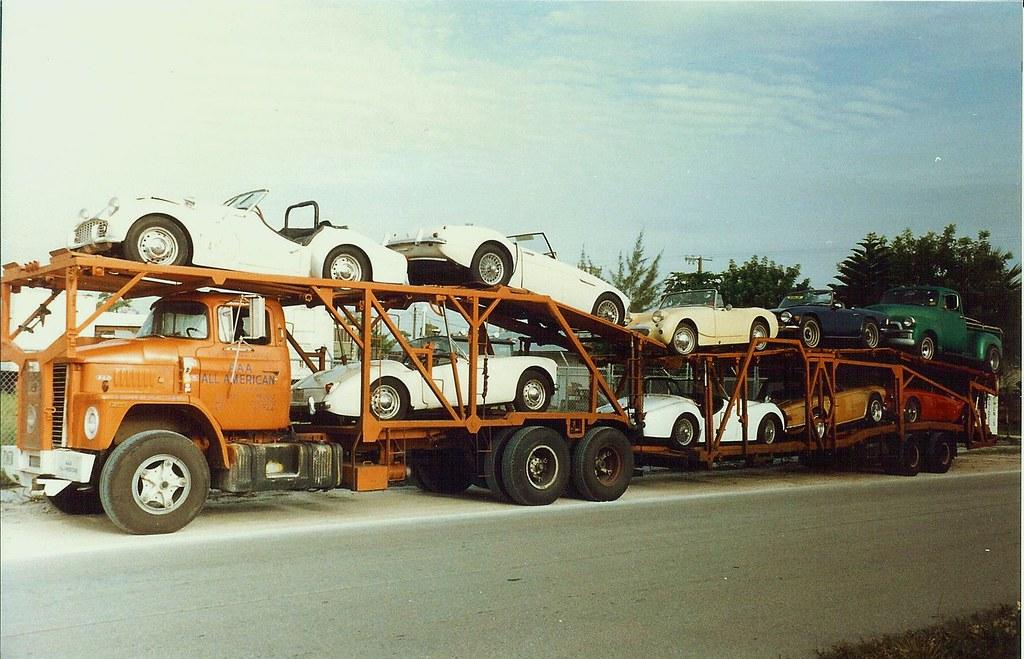 Dodge Cn Car Hauler Fla Late 1980 S Shot A Load Of Old Flickr