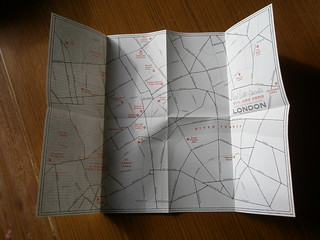You Are Here: Freelancer's Map of London | by I like