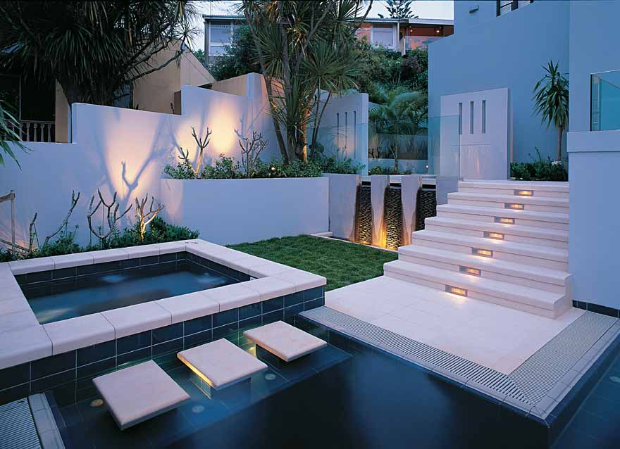 All sizes natural habitats landscapes residential for Swimming pool design new zealand
